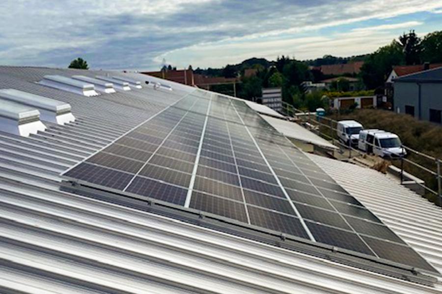 Photovoltaikanlage Oberndorf, Röttinger In Nördlingen